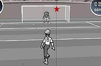 Speel nu het nieuwe voetbal spelletje Zwart Wit Voetbal 2
