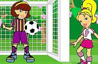 Speel nu het nieuwe voetbal spelletje Polly Pocket Voetbal