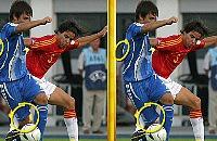 Speel nu het nieuwe voetbal spelletje Voetbal Photo Play
