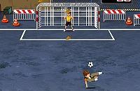 Speel nu het nieuwe voetbal spelletje Goal Street