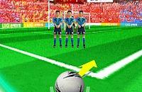 Speel nu het nieuwe voetbal spelletje Vrije Trap Simulator
