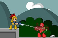 Red Tasseled Fighter