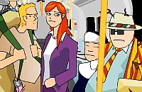 Metro Drukte