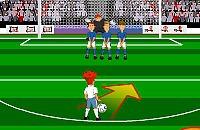 Speel nu het nieuwe voetbal spelletje Free Kickers