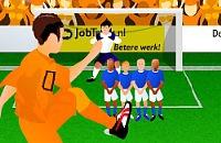 Speel nu het nieuwe voetbal spelletje EK Penalty