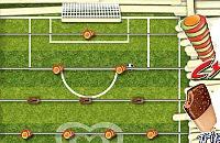Speel nu het nieuwe voetbal spelletje IJs Tafelvoetbal