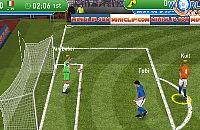 Speel nu het nieuwe voetbal spelletje 3D Wedstrijd