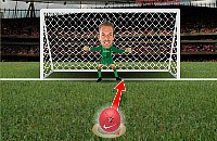 Speel nu het nieuwe voetbal spelletje Beat the Keeper