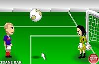 Speel nu het nieuwe voetbal spelletje Zidane Showdown