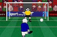 Speel nu het nieuwe voetbal spelletje Tele Shoot Out