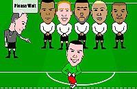 Speel nu het nieuwe voetbal spelletje Vrije trap Uitdaging