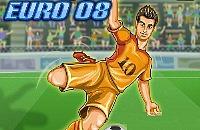 Speel nu het nieuwe voetbal spelletje Kampioenen Euro 08