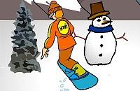 Snowboarden 01