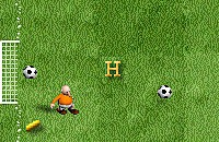 Letter Voetbal