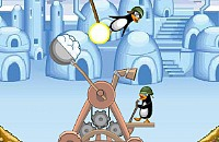 Crazy Pinguin Katapult