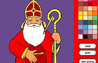 Sint Nicolas Coloring Book