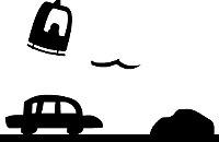 Auto Nero Bianco
