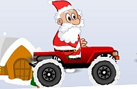 Kerstman Jeep