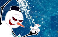Kerstman vs Sneeuwman