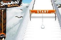 X-Treme Snowball Slalom