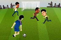 Speel nu het nieuwe voetbal spelletje Zizou Voetbal