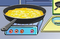 Cooking Show - Cheese Omelette