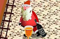 De dronken kerstman