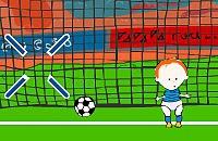 Speel nu het nieuwe voetbal spelletje Voetbal 4