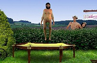 Nudist Trampoline