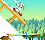 Speel het nieuwe girl spel: IJsbeer Snowboard