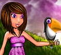 Play the new Girl Flash Game: I Love Birds