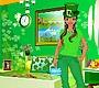 Speel het nieuwe girl spel: Groene Slaapkamer