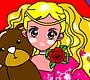 Speel het nieuwe girl spel: Prinses Kleurplaat