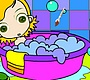 Speel het nieuwe girl spel: Badkamer Kleurplaat