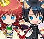 Play the new Girl Flash Game: Chibi Kairi & Namine  Dress Up