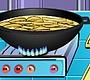 Speel het nieuwe girl spel: Kook Show - Vis met Frites
