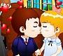 Speel het nieuwe girl spel: Schoolbus Kus