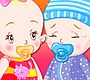 Play the new Girl Flash Game: Baby Twins Dressup