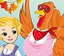 Play the new Girl Flash Game: Turkey Dressup