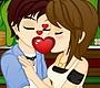 Speel het nieuwe girl spel: Romantische Kusjes