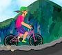 Speel het nieuwe girl spel: Mountain Rider