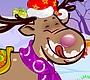 Speel het nieuwe girl spel: Kerst Rendier