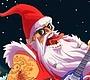 Speel het nieuwe girl spel: Kerstman Rockster 2