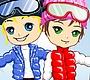 Speel het nieuwe girl spel: Skiing Dash