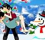 Speel het nieuwe girl spel: Kus Tijdens het Schaatsen