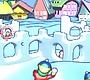 Speel het nieuwe girl spel: Sneeuwkasteel Aanval 1