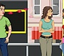 Speel het nieuwe girl spel: Bushalte Flirt
