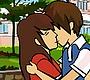 Speel het nieuwe girl spel: Stiekem Kussen op School