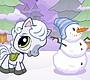 Speel het nieuwe girl spel: Snowy Pony