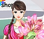 Play the new Girl Flash Game: Flower Shop Girl